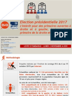 Sondage primaires 2017