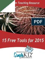 15 Web Tools 2015