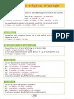 Règles d'Usage Orthographe