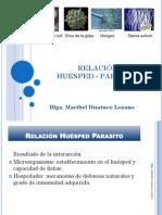 Relación Huésped Parásito Cadena.