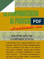Comparescencia Al Proceso