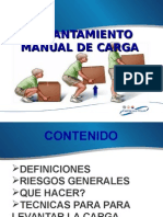 LEVANTAMIENTO MANUAL DE CARGA..ppt