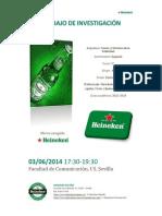 Trabajo de Investigación sobre Heineken.