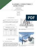Postes, Estructuras, Aisladores y Conductores