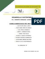 CUENCA HIDROLOGICA DEL RIO COATAN