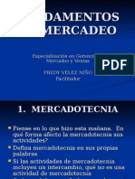 Fundamentos de Mercadeo Sesion 1 y 2