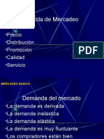 Fundamentos de Mercadeo Sesion 5 y 6