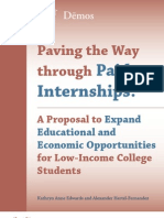 Paving the Way Through Paid Internships