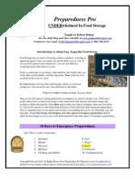 Underwhelmed in Food Storage Resource Guide