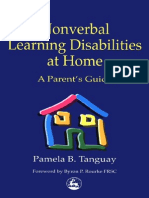 Pamela B. Tanguay Nonverbal Learning Disabilities at Home- A Parent's Guide