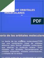 Teoria de Orbitales Moleculares