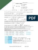 Elec 3909 Formula Sheet