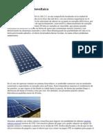 Paneles Solares Fotovoltaico