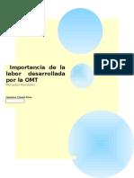 Importancia de la labor desarrollada por la OMT.docx