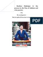 Excerpts on Ruchira Shaktipat & the transmission process in the Way of Adidam and other notes on the practice - Adi Da Samraj