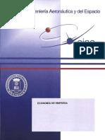 Economia de Empresa. Tomo I. Microeconomía