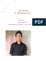 Bcs Preliminary English by Shushanta Paul Full and Final Version (1 to 10) Lecture