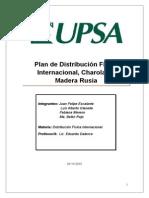 Plan de Distribución Física Internacional - Bolivia - Rusia
