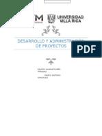 Desarrollo y Administración de Proyectos reutilizacion del agua