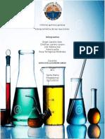 Informe Química General estequiometria