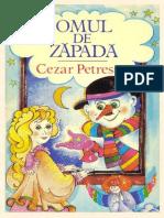 Cezar Petrescu - Omul de Zăpadă