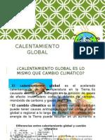 Calentamiento Global Exponer