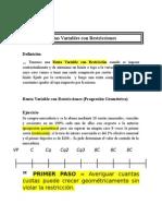 RENTAS VARIABLES CON RESTRICCIONES-EXPLICACIÓN Y EJERCICIOS