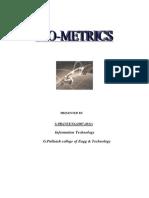 Bio Metrics Praveena