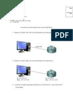 Cuestionario Router