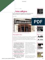 La Letra Callejera