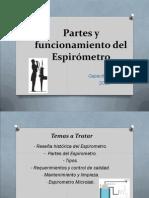 Partes y Funcionamiento Del Espirometro P5