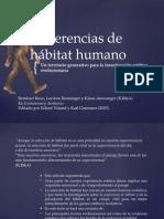 Evolutionary Aesthetics - Preferencia de habitat
