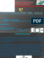 Contaminacion Del Agua Ppt