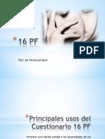 Presentaciòn del test 16pf PDF