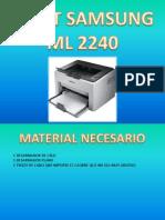 Reset Samsung Ml 2240