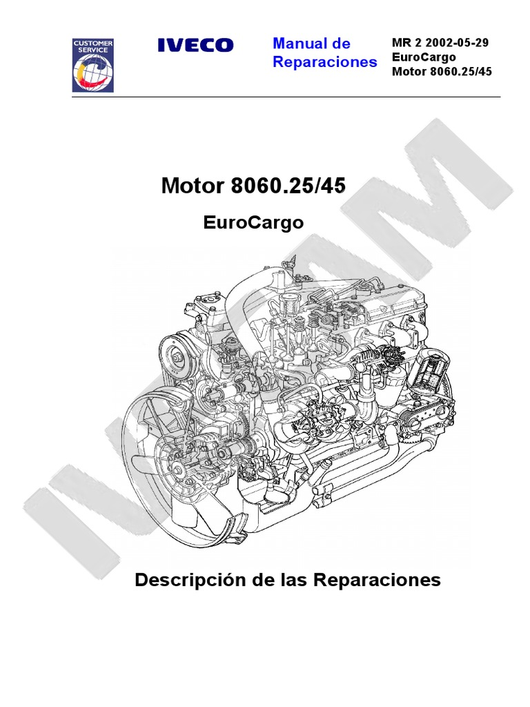 Manual Camion Iveco