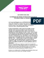 31-PORQUE NO PUEDO ESTABLECER MI PLAN DE ESTUDIOS PARA LA SALVACION?
