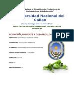 Economia,Ambiente y Desarrollo Sostenible