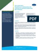 CQY UNI 11505 MaterialiRiciclati Fibresintetiche Ed01