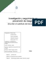 Informe de Investigacion de Accidentes