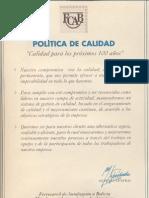 PoliticaCalidadFCAB