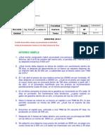Laboratorio 1 -Practica INTERES SIMPLE
