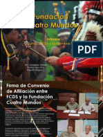 Reporte - Fundación Cuatro Mundos - Panamá - Junio 2013 - Septiembre 2015