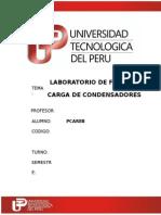 Lab 6 Fisicaiii Carga de Condensadores PDF