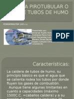 Caldera Pirotubular o de Tubos de Humo