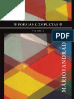 Mario de Andrade-Poesias Completas - Vol. 2-Nova Fronteira (2013)