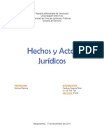 Hechos y Actos Juridicos. Civil Contratos.doc