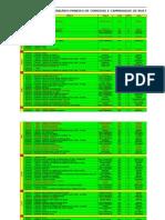 Calendário Mineiro de Corridas de Rua de 2012 - Fma - 6ª Versão