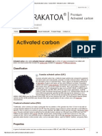 About Activated Carbon - Karbon Aktif - Activated Carbon - Aktif Karbon