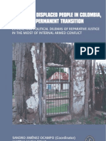 Colombia IDP´s & Transitional Justice  IDRC_102865-001